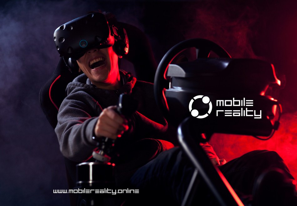 Mobile Reality VR Gaming Experience Promotional Ad (CNW Group/Mobile Reality Enterprises)