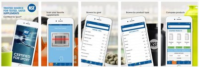 NSF International�s Certified for Sport� app is available for download at http://onelink.to/9hqd3c