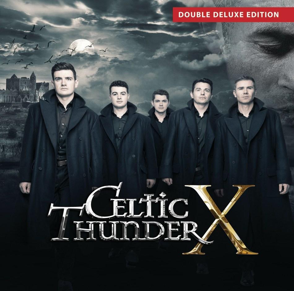 Celtic Thunder X - CD cover art