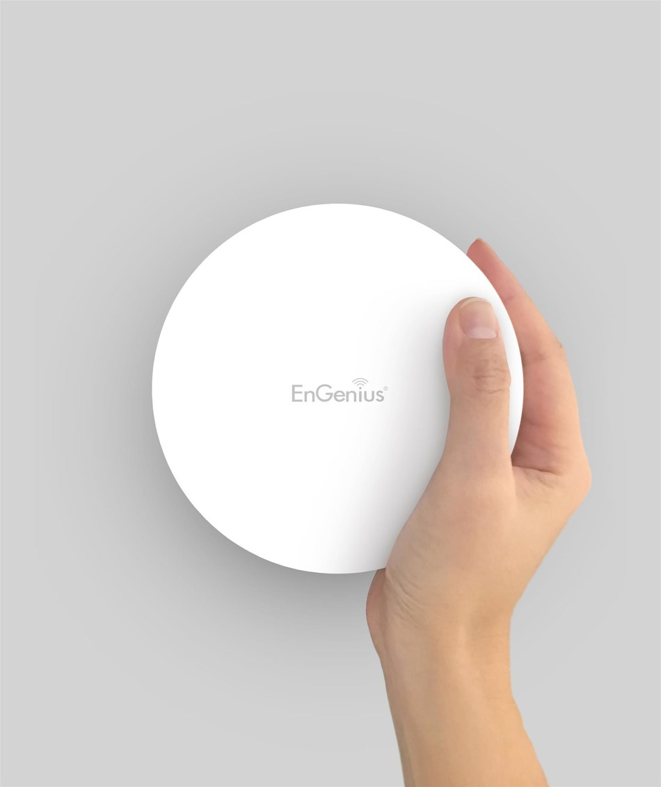 EnGenius EAP1250 Indoor 802.11ac Wave 2, Quad-Core Processor, Wireless AP boosts wireless performance with enhanced speeds, increased device capacity, improved connection reliability, and a compact, stylish design.