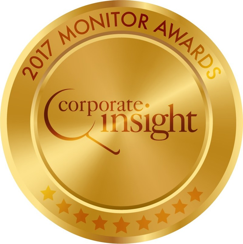 2017 Monitor Awards Gold Medal