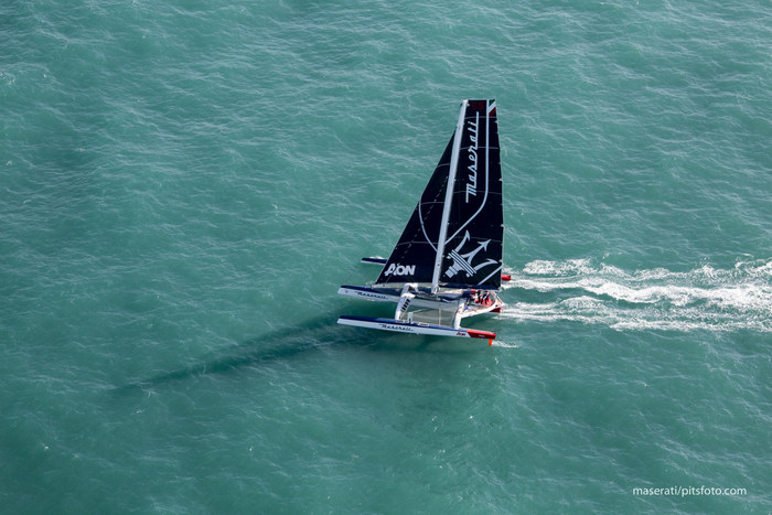 Giovanni Soldini And Team Maserati Attempt World Record Sail From Hong Kong To London