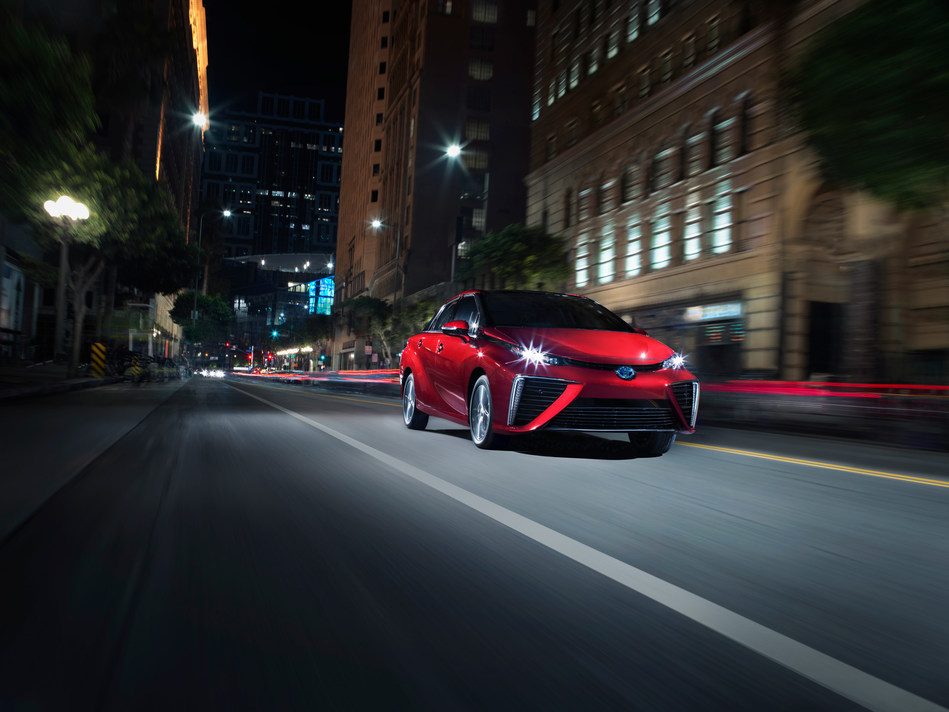 Move over polluters, the Toyota Mirai, one of the  world's first mass-produced hydrogen fuel cell electric vehicles, has surpassed 3,000 sales in the Golden State.