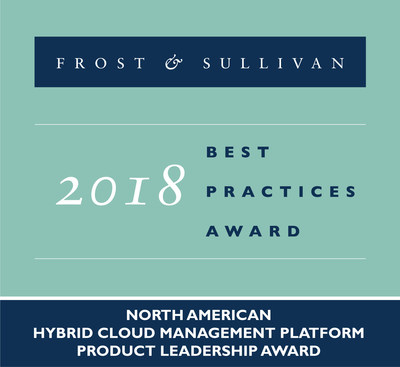 CenturyLink received the Frost & Sullivan 2018 Product Leadership Award for its innovative Cloud Application Manager hybrid cloud management platform.