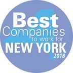 Belle Haven Investments named one of 2018's Best Companies to Work for in New York State