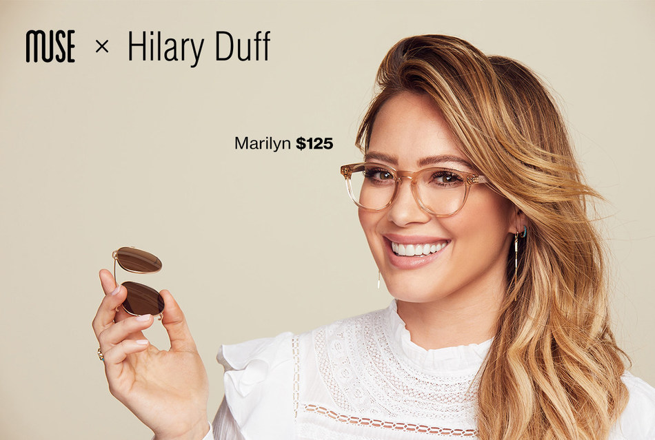 GlassesUSA.Com And Hilary Duff Partner To Launch Muse x Hilary Duff Eyewear Collection