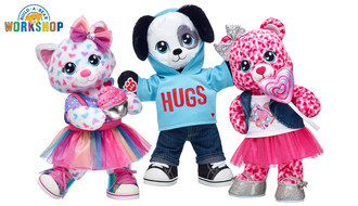Build-A-Bear Workshop® today announced a new collection of Valentine's Day gifts that are sweeter than ever, including Make-Your-Own Sugar Scent™ furry friends that feature a sugar-scented fragrance.