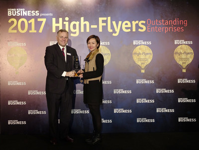 Dorsett Wanchai, Hong Kong Named 'Best Family Hotel in Hong Kong' at the Hong Kong Business High Flyers Awards 2017