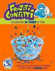 Dippin' Dots Celebrates 30 Years with the Launch of New Frozeti Confetti Flavor