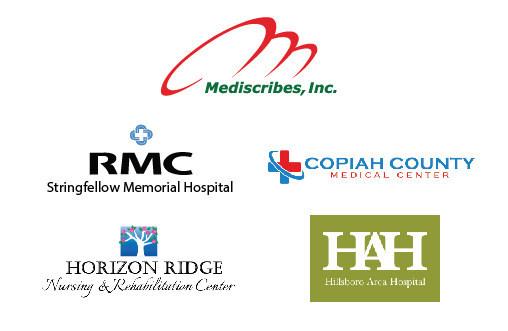 Mediscribes added RMC Stringfellow Memorial Hospital, Copiah County Medical Center, Horizon Ridge Nursing & Rehabilitation Center and Hillsboro Area Hospital in Q4 2017.