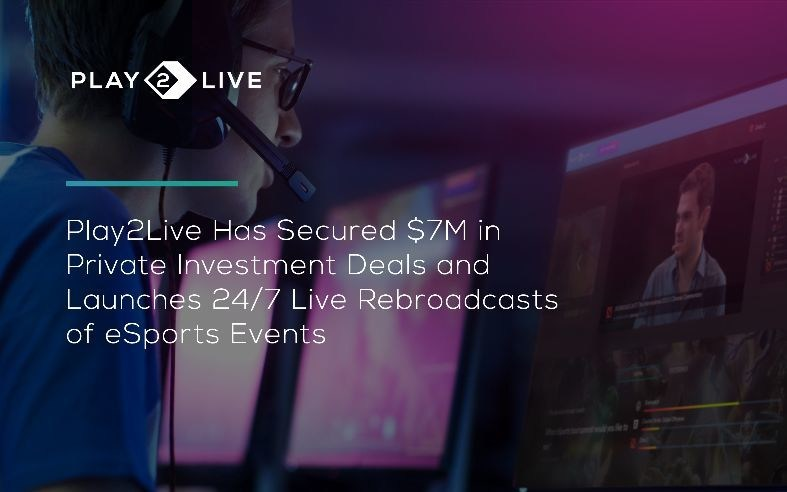 Play2Live is blockchain-based streaming platform for gamers and eSports fans. We are a trailblazer in merging revolutionary blockchain technology and streaming services. Play2Live introduces a full-blown ecosystem for eSports and gaming with a deep focus on content generation and practical needs of streamers and viewers, providing unique interactive opportunities and monetization schemes for all participants of the ecosystem - eSports tournament organizers, the streamers and the viewers....
