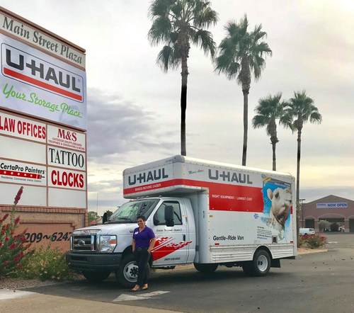 U-Haul® acquired a 7.82-acre property at 6215 E. Main St. on Nov. 28 and is in the process of finalizing details for a state-of-the-art facility to be crafted there.