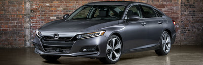 The 2018 Honda Accord is available now at Allan Nott Auto.