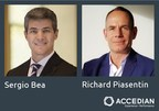 Sergio Bea and Richard Piasentin join senior team as Accedian expands into new markets (CNW Group/Accedian Networks Inc.)