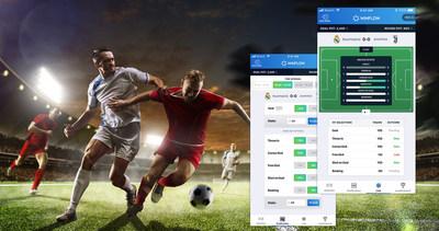 Screenshots of Winflow Mobile Interface