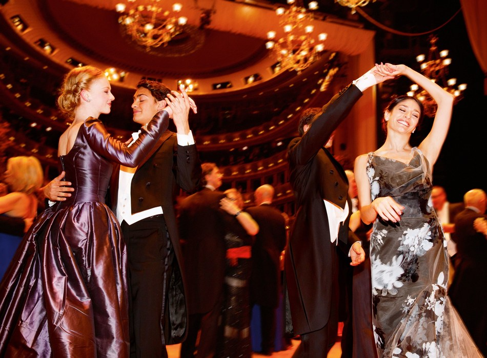 Vienna's tourism industry looks back on its best year ever: 15.5 million visitor bednights, 3.7% more than in 2016, represent a new all-time high. Photo: Vienna Opera Ball (PRNewsfoto/Vienna Tourist Board)