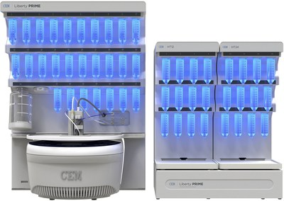 https://mma.prnewswire.com/media/632493/cem_liberty_prime_automated_microwave_peptide_synthesizer.jpg