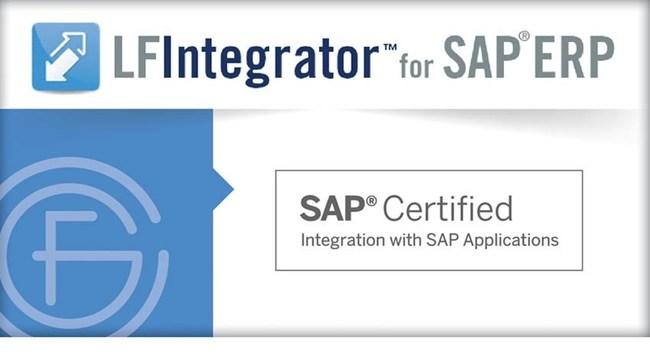 LFIntegrator™ For SAP® ERP Certified As Powered By SAP NetWeaver®