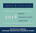 Frost & Sullivan recognized prooV with the 2018 European Visionary Innovation Leadership Award in the PoC-as-a-service market.