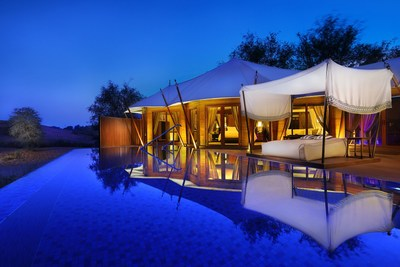 Celebrate romance with a stay in a private pool villa in the stunning scenery of The Ritz-Carlton Ras Al Khaimah, Al Wadi Desert. (PRNewsfoto/The Ritz-Carlton Ras Al Khaimah)