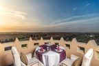 The Al Wadi Tower offers the perfect scenery for a very unique romantic dinner overlooking the Ras Al Khaimah landscape. (PRNewsfoto/The Ritz-Carlton Ras Al Khaimah)