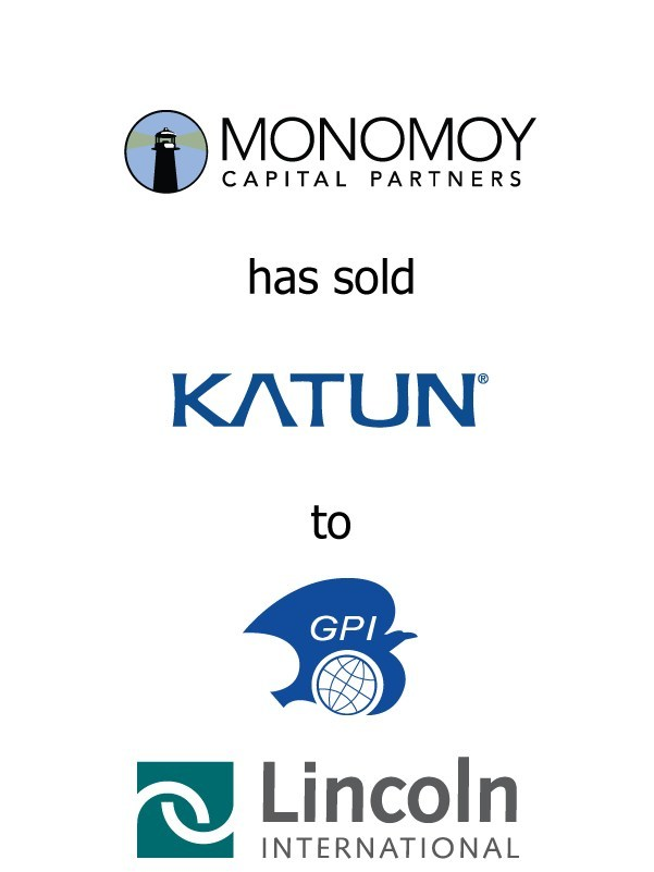 Lincoln International represents Monomoy Capital Partners in the sale of Katun Corporation to General Plastic Industrial Co., Ltd.