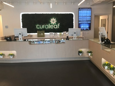 Medical Cannabis Dispensary, Curaleaf, Opens its First