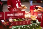 Red Robin Gourmet Burgers and Brews Features Gourmet Burger Bar in Big Game Playbook