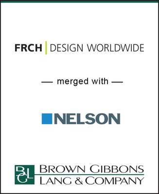 BGL Announces the Merger of FRCH Design Worldwide and NELSON