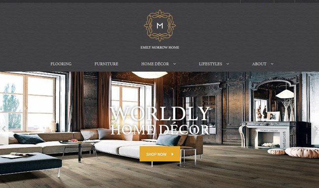 Emily Morrow Home Launches Home Decor Shopping Site