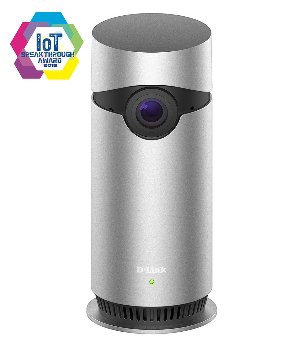 "D-Link Apple HomeKit Enabled Camera – Omna 180 Cam HD – Recognized as ""Home Security Camera Product of the Year"""