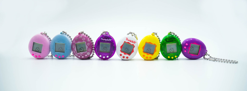 BACK BY POPULAR DEMAND-MINI TAMAGOTCHI ARRIVES IN HOT NEW COLORS THIS YEAR!