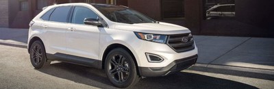 Model review of the 2018 Ford Edge in Johnston, South Carolina