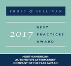 Frost & Sullivan recognizes Delphi Technologies with the 2017 North American Company of the Year Award.