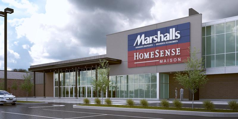 Centre Laval annonce officiellement la venue de Marshalls et HomeSense (Groupe CNW/Centre Laval)
