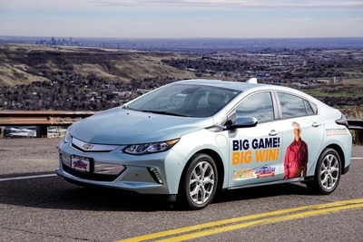 Natural Grocers customers have the chance to win a 3-year lease on one of three vehicles, including the Chevy Volt.