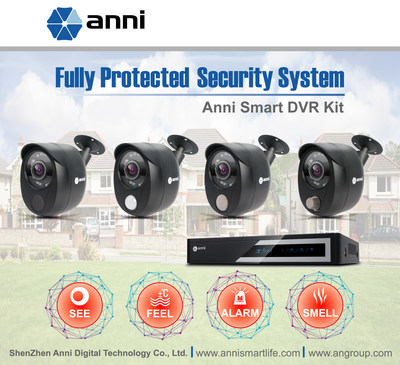 Leading Chinese video surveillance solution provider, Anni Digital, rolls out its latest wired DVR system, an integrated home security solution