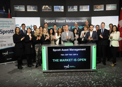 Sprott Asset Management LP Opens the Market (CNW Group/TMX Group Limited)