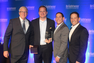 Brightway Insurance presented awards to top producing Agents during its annual awards event in Orlando, Fla., Saturday, Jan. 20.