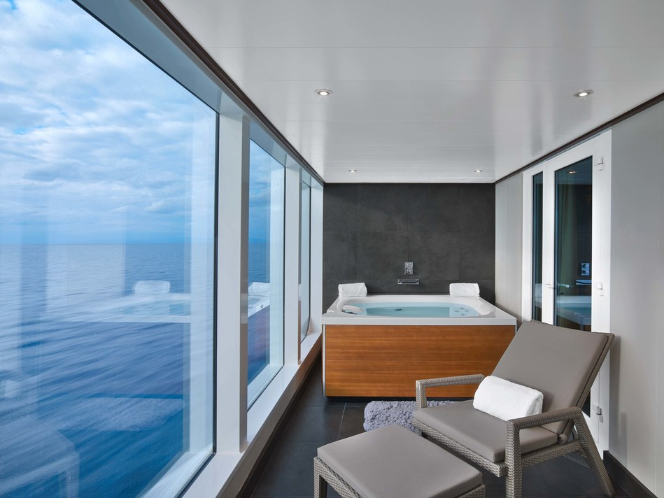 Scheduled to launch in May 2018, the newest ultra-luxury ship in the Seabourn fleet will invite guests into 300 spacious, all veranda oceanfront suites across an array of layouts, each complete with its own private veranda. Fashioned with modern design elements, innovative touches and luxurious amenities by hospitality design icon Adam D. Tihany, the suites will be destinations in their own right, offering sublime comforts and the understated elegance for which Seabourn is so widely renowned.