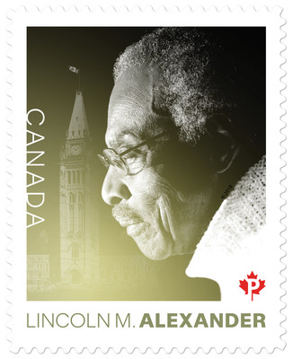 Mr. Lincoln M. Alexander (CNW Group/Canada Post)