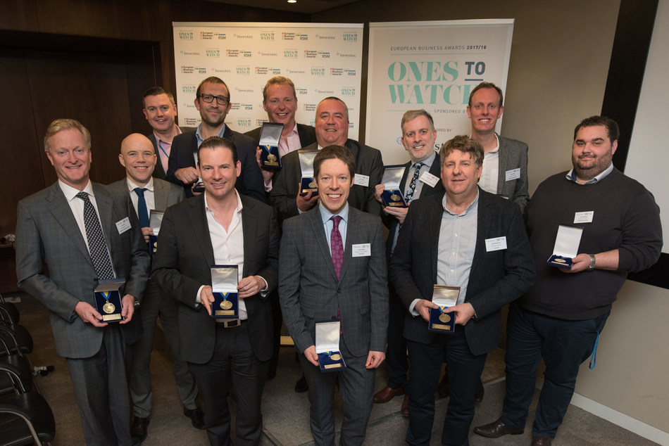 National Winners for the UK named in prestigious European Business Awards (PRNewsfoto/European Business Awards)