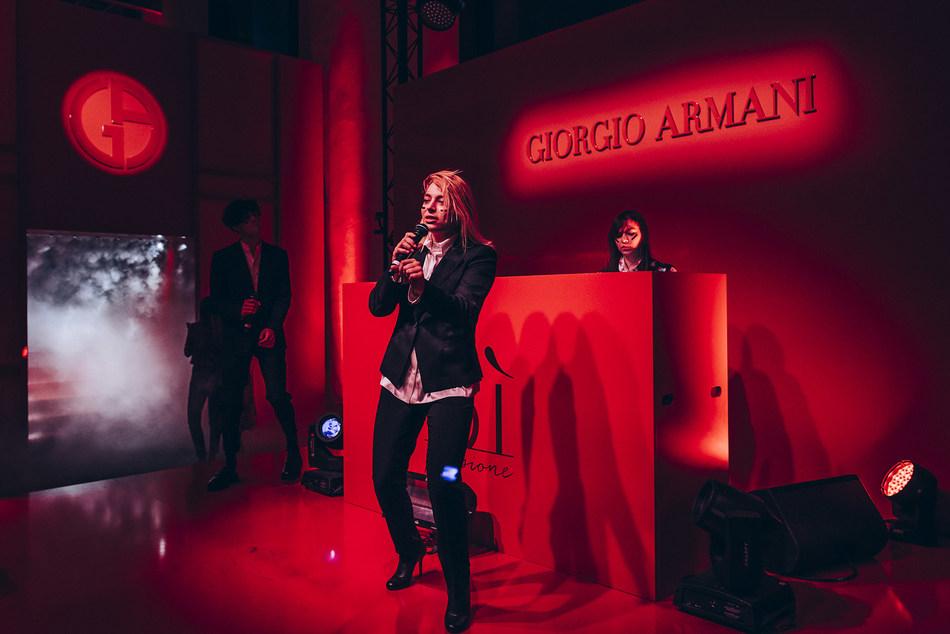 ARMANI Si Passione_Hyphen Hyphen (PRNewsfoto/Giorgio Armani Fragrances)