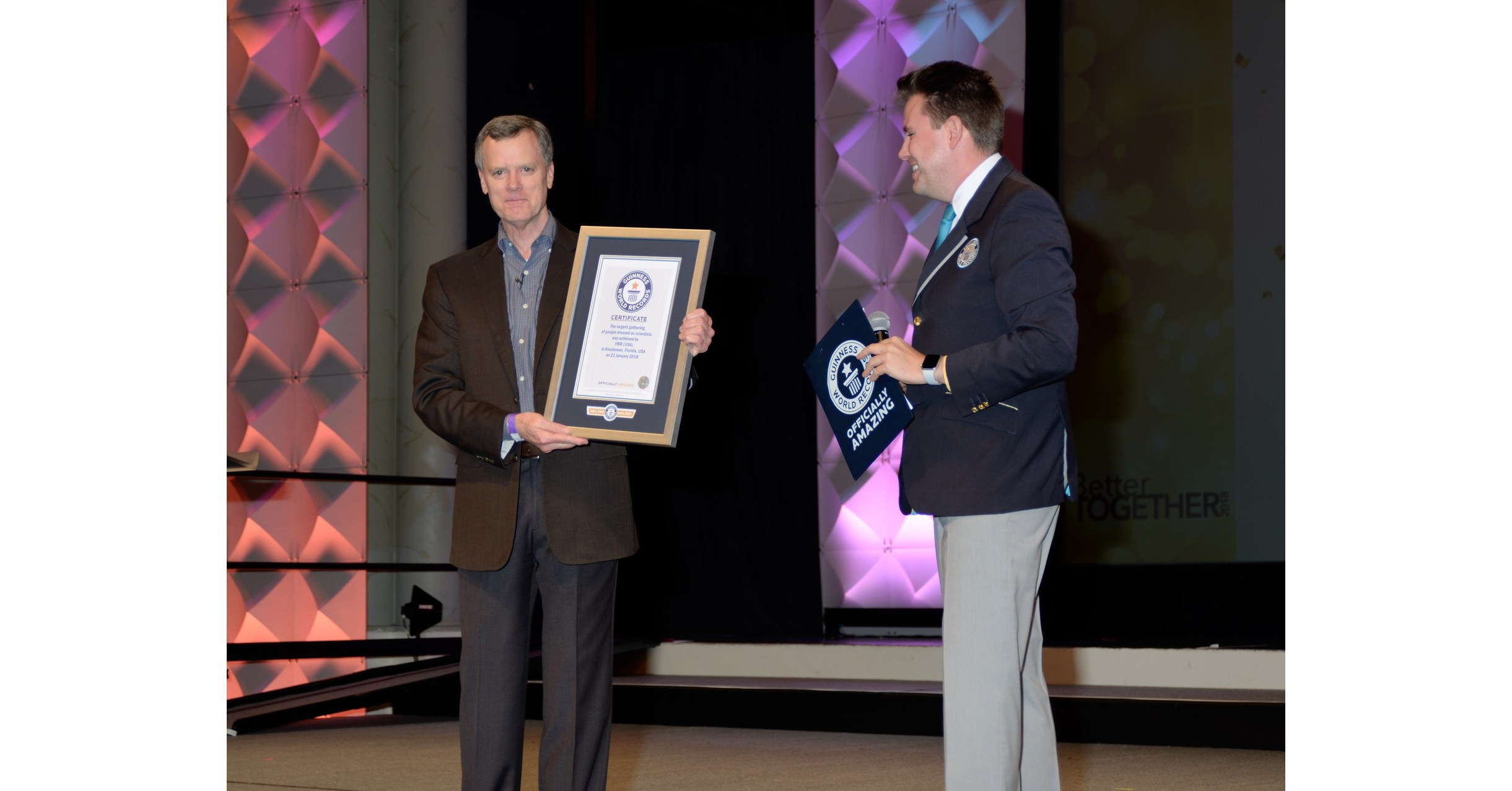 VWR, Part of Avantor, Achieves GUINNESS WORLD RECORDS™ Title