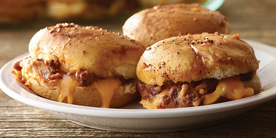 Hormel® chili Sloppy Joe sliders
