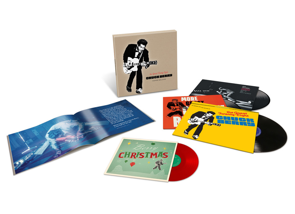 "Geffen/UMe are paying tribute to the immortal spirit of Chuck Berry with the ultimate vinyl version of his landmark greatest hits compilation, ""The Great Twenty-Eight,"" with ""The Great Twenty-Eight: Super Deluxe Edition."""