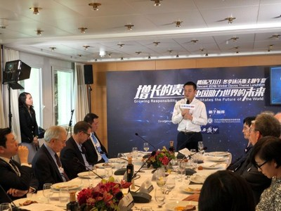 James Liang, Co-founder and Executive Chairman of Ctrip at the World Economic Forum