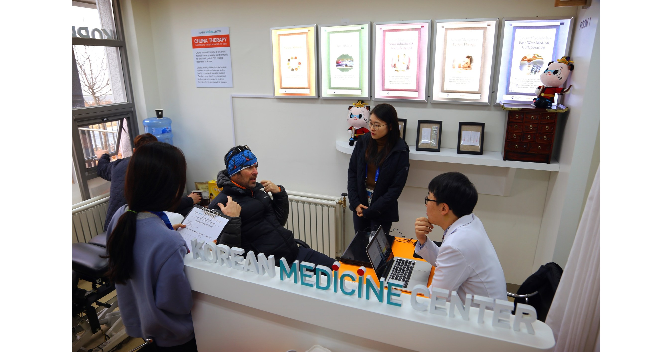 The Only Korean Medicine Center at the Olympic Winter Games