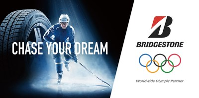"Through its global Olympic message entitled ""Chase Your Dream,"" Bridgestone is working to bring the Olympic spirit to life in ways that empower people everywhere to overcome adversity and persevere in pursuit of their goals."