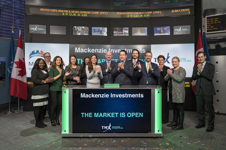 Mackenzie Investments Opens the Market (CNW Group/TMX Group Limited)